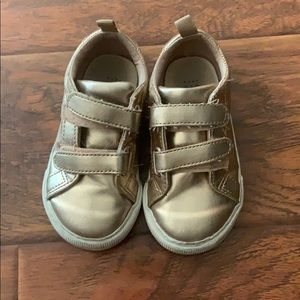 Gap Kids Rose Gold Strappy Shoes